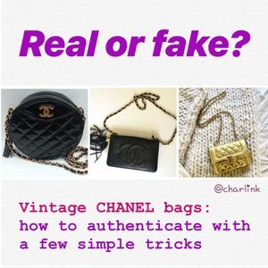 Vintage Chanel Bags a simple guide to authenticate